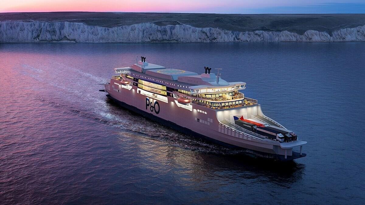 Hybrid propulsion for P&O 'super ferries'
