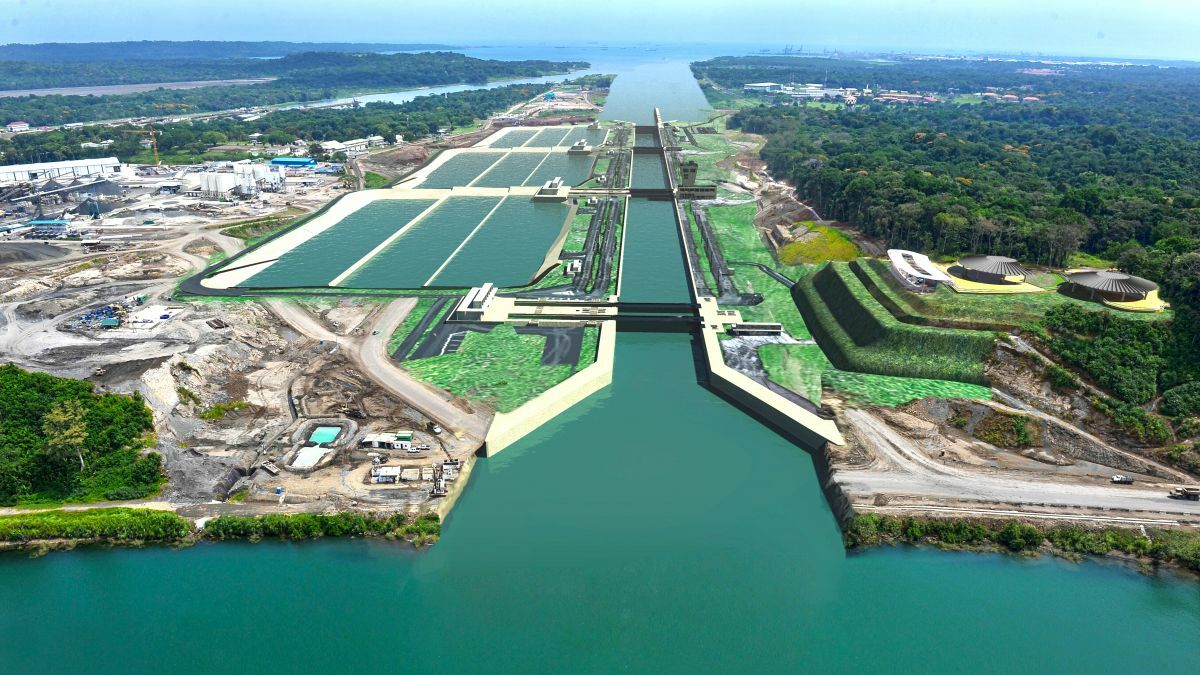 Panama Canal water levels cause long-term concern