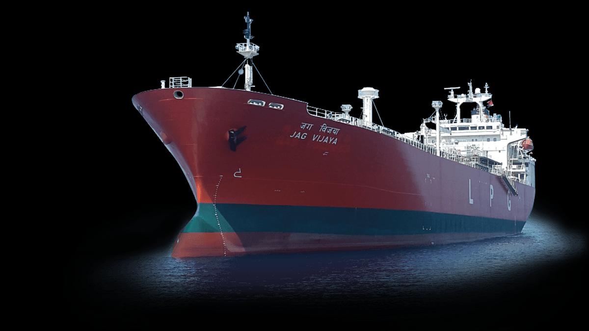 ABB Ability Tekomar Xpert monitors the performance of GESCO tanker Jag Vijaya (source: ABB)