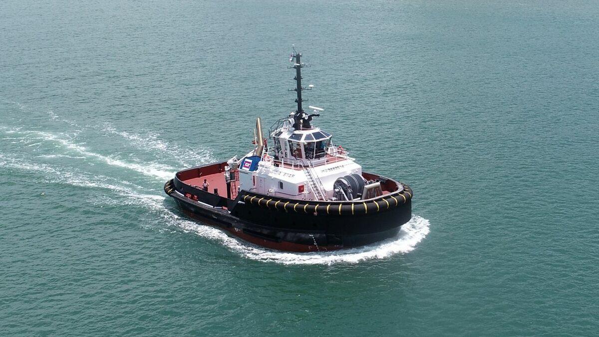 ASD 2813 tug Gioia Star was designed and built by Damen (source: Damen)