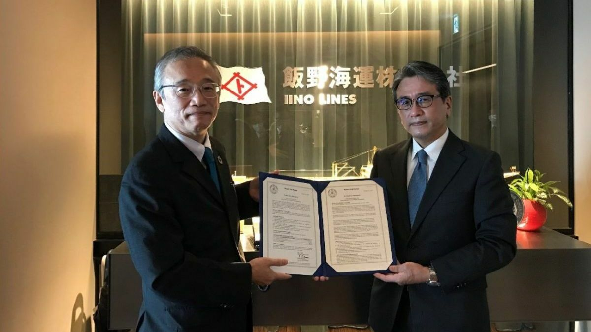Iino Lines on target for GHG emissions reduction