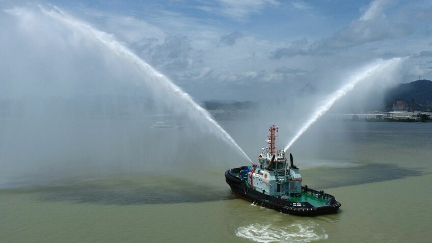 Chinese ports enhance towage with new tugs