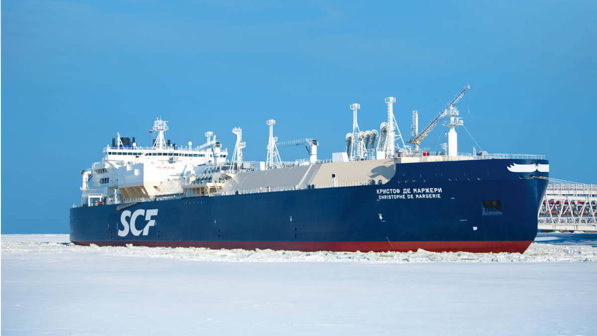 Through a joint venture, Sovcomflot will be adding additional ice-breaking LNG carriers (Source: Sovcomflot)