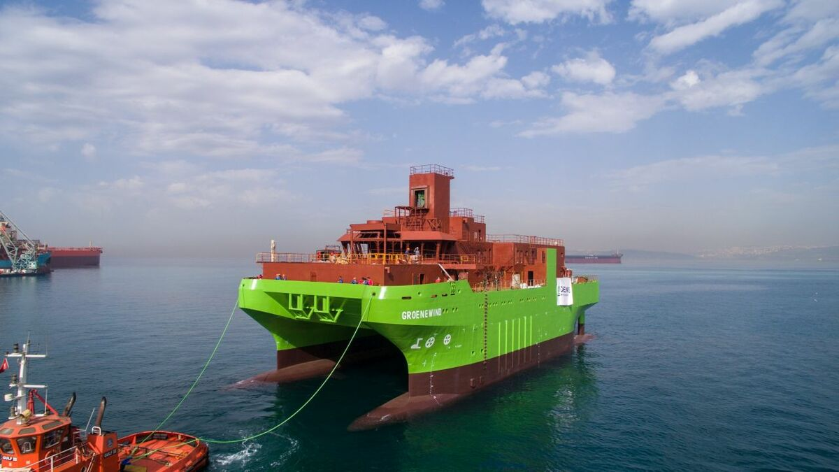 DEME launches innovative service operation vessel