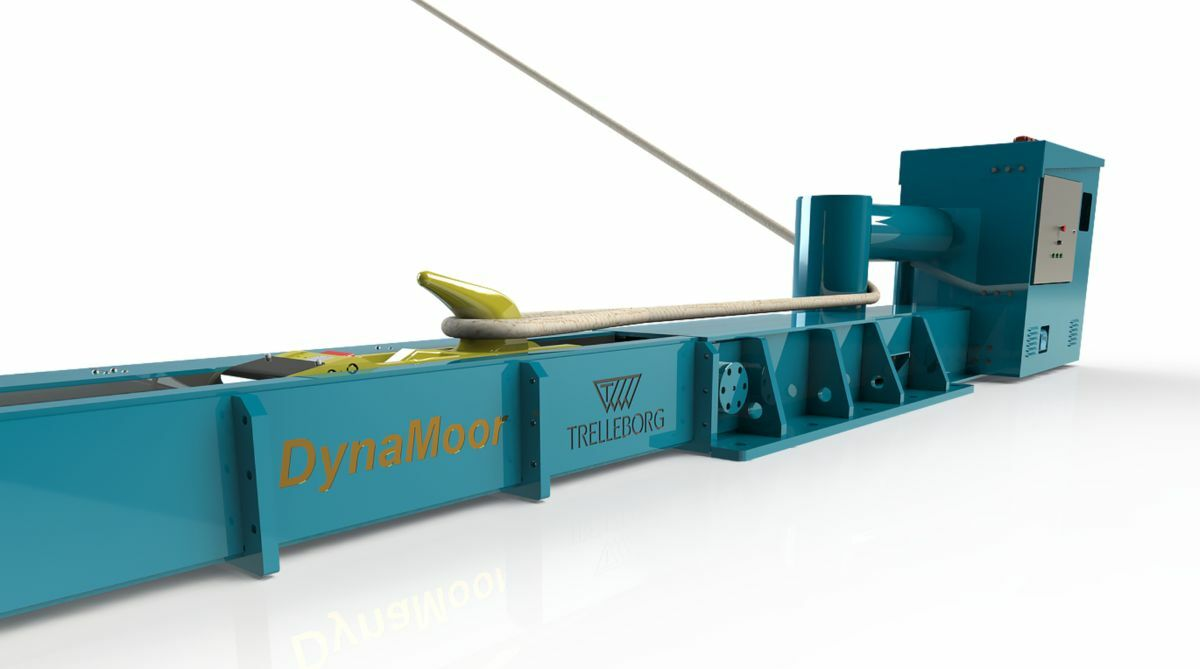 Dynamic mooring equipment can improve vessel stability and help eliminate human error (Source: Trelleborg)
