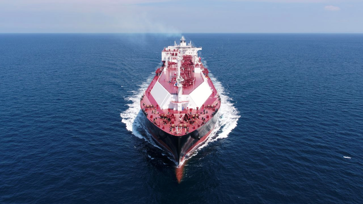 Flex Endeavour underwent a remote SIRE inspection while it discharged cargo in Jordan (Source: Flex LNG)