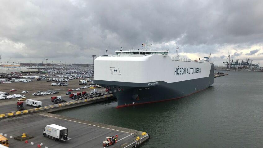 Höegh Autoliners partners for engine optimisation