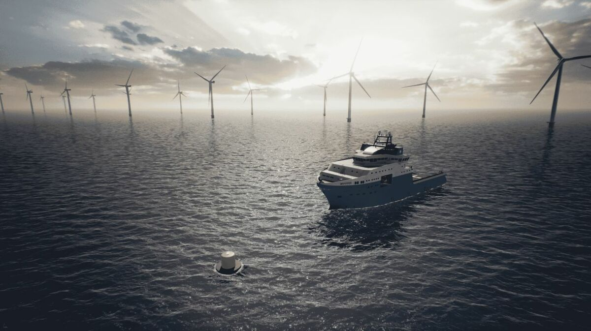 Using the mooring/power buoy will enable emissions from offshore operations to be reduced