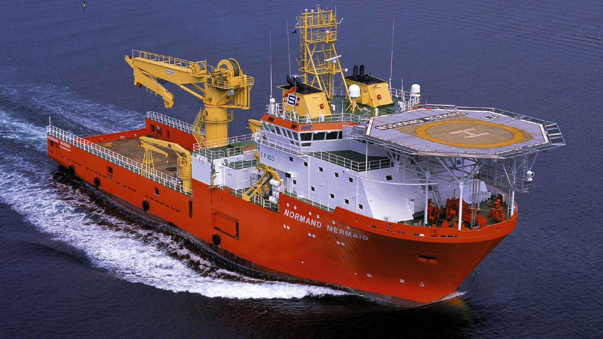 Normand Mermaid is supporting pre-lay activities at the Seagull subsea tie-back project in the North Sea (Source: Ulstein)