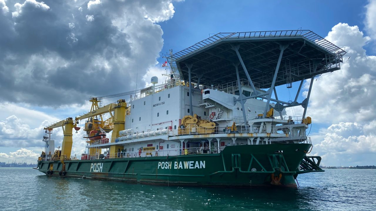 POSH Bawean is one of three floating facilities used by MPA for safe crew changes (Source: POSH)