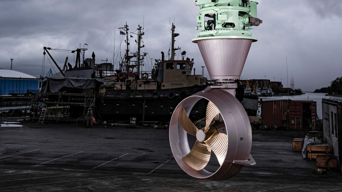 All-electric thrusters for greener shipping