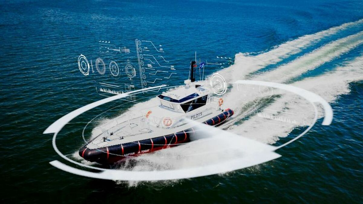 A planing pilot vessel could have an autonomous navigation system (source: Uzmar)