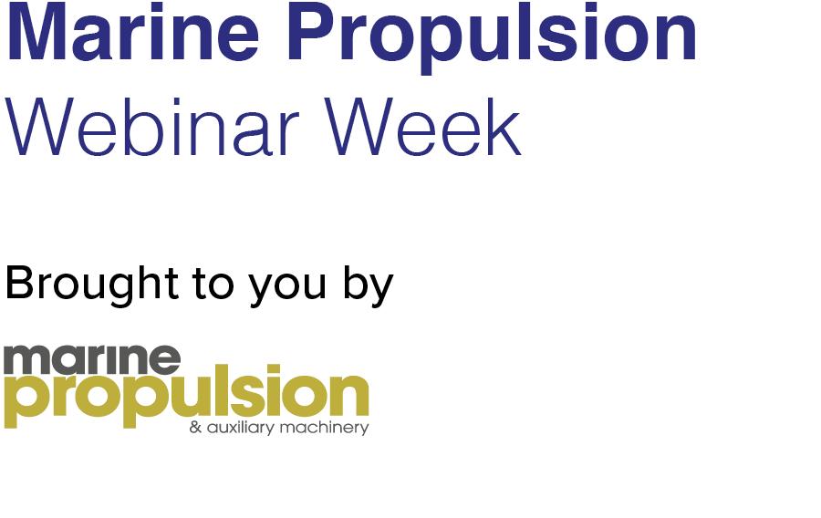 Marine Propulsion Webinar Week