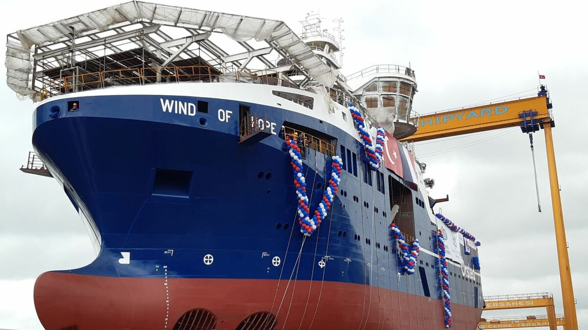Wind of Hope was launched on 21 September 2020