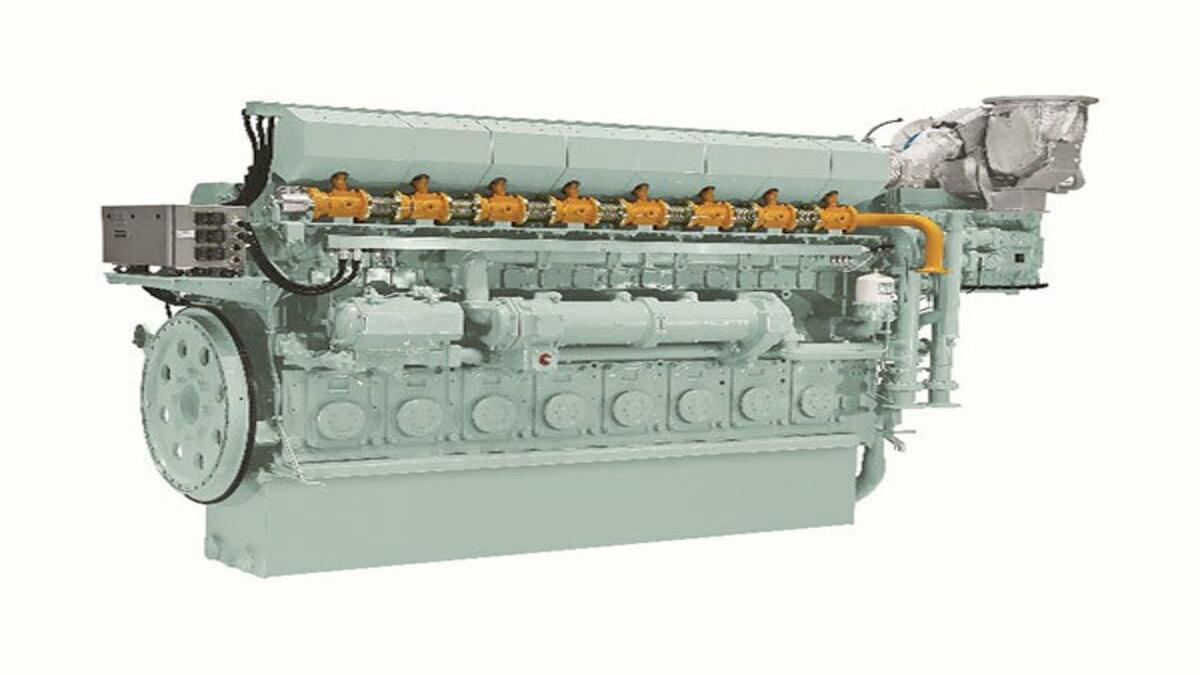 8EY26LDF Dual Fuel Marine Engine (Image: Yanmar)