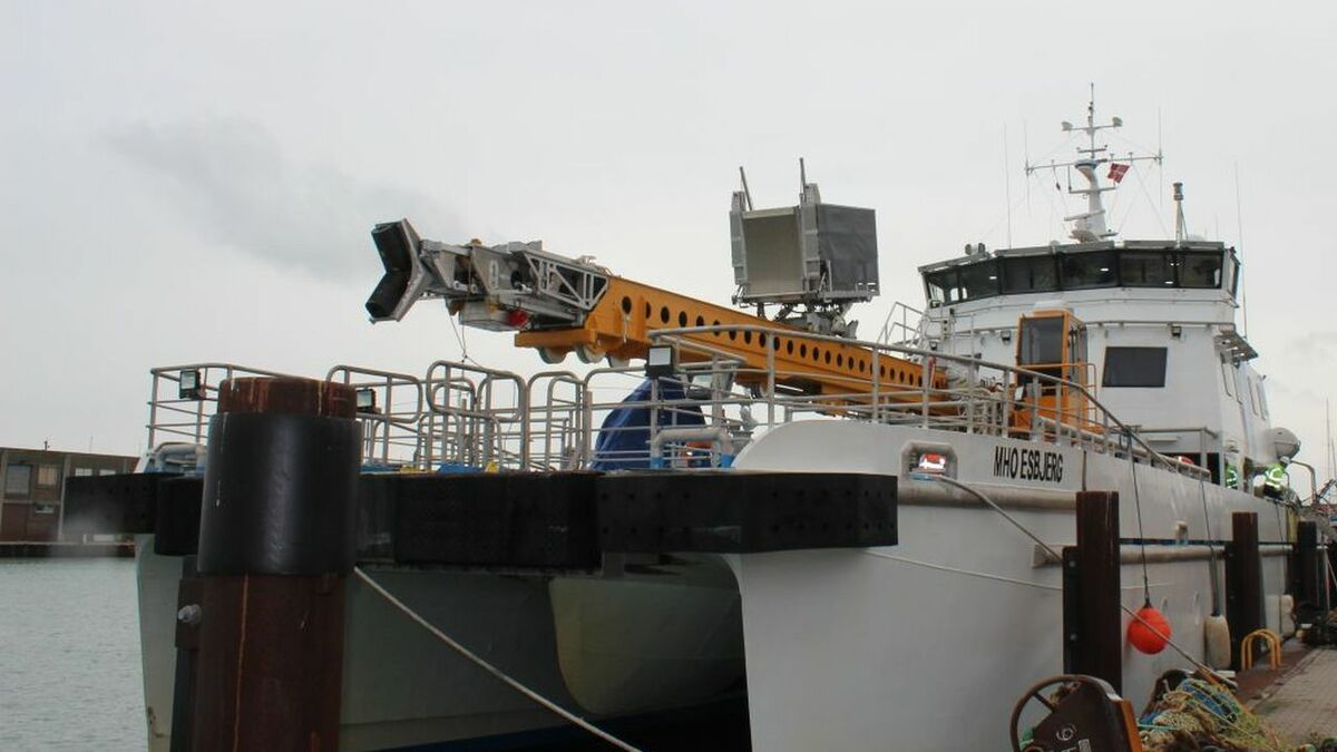 Sea trials approaching for innovative Z-Bridge 'bring-to-work' system
