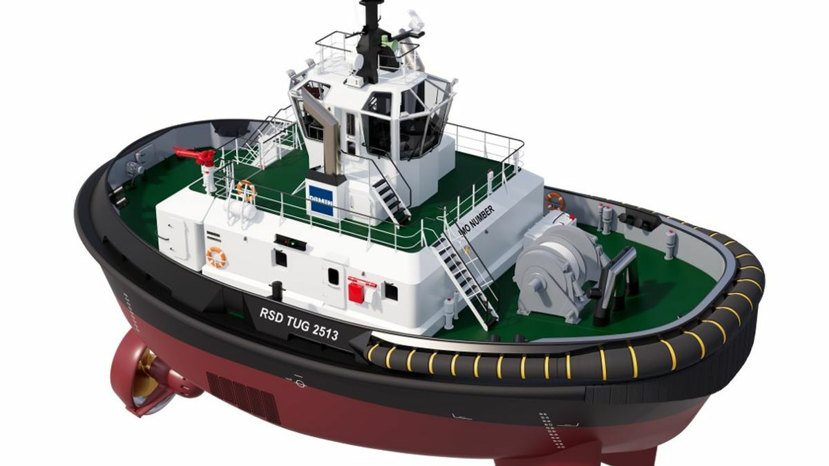 Damen designed RSD-E Tug 2513 for Port of Auckland