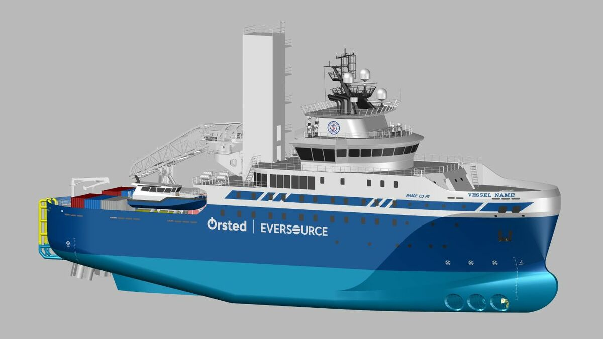 Edison Chouest Offshore's service operation vessel will be the first of its type in the US (Image: ECO)