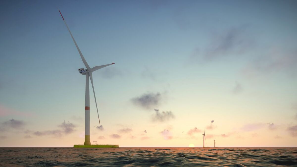 The EolMed project will see 10-MW rated V164 turbines installed on floating foundations from Ideol