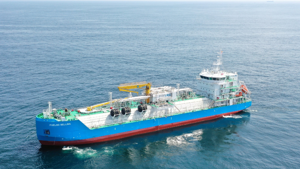 FueLNG Bellina will be equipped with a digital platform to monitor and executive the bunkering process (Source: Keppel O&M)