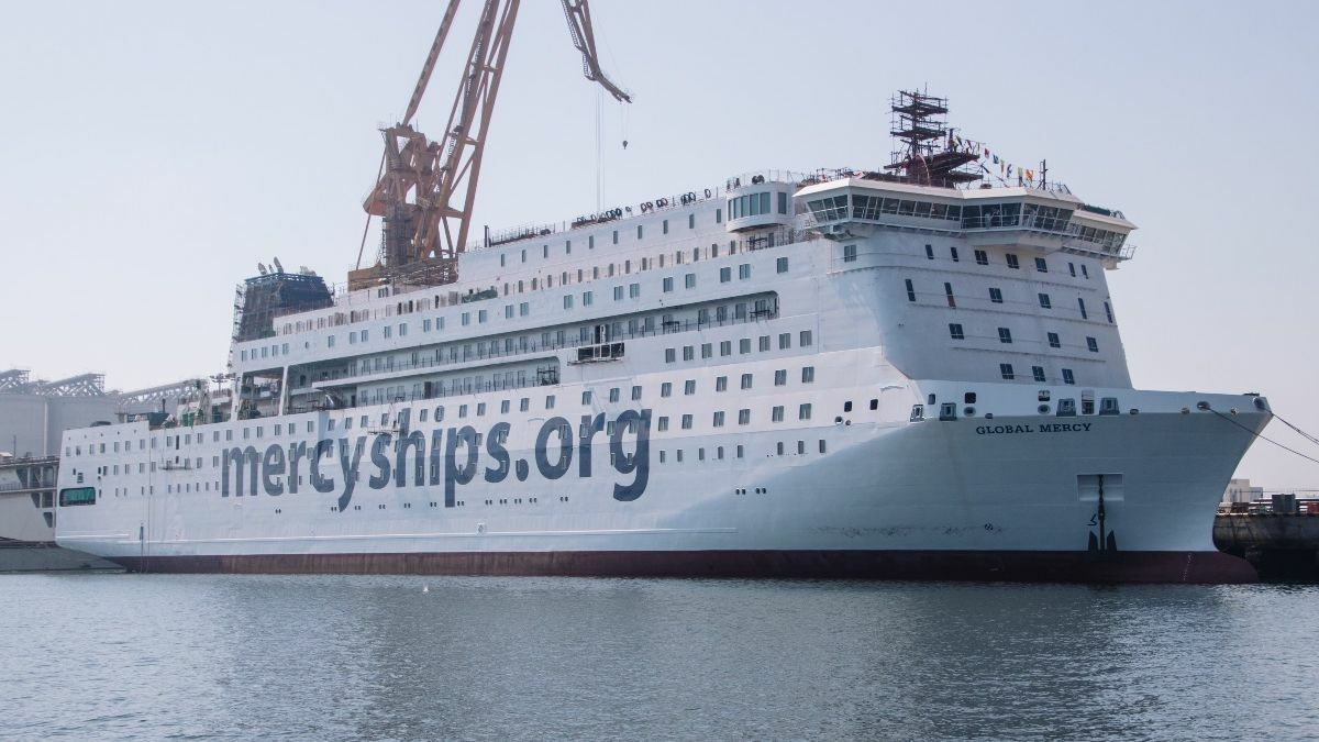 Global Mercy receives donation of I-Tech's barnacle repelling coatings ingredient (source: I-Tech)