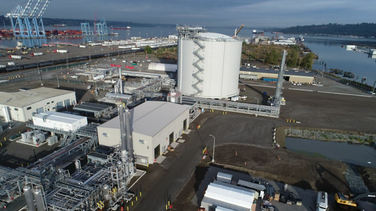 Tacoma: new LNG hub comes to North America's west coast