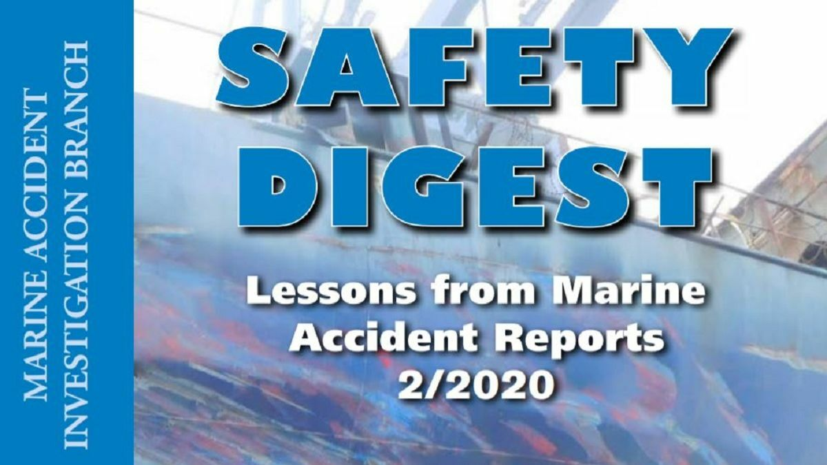 The MAIB Safety Agenda is a useful source of case studies for those in the maritime safety field