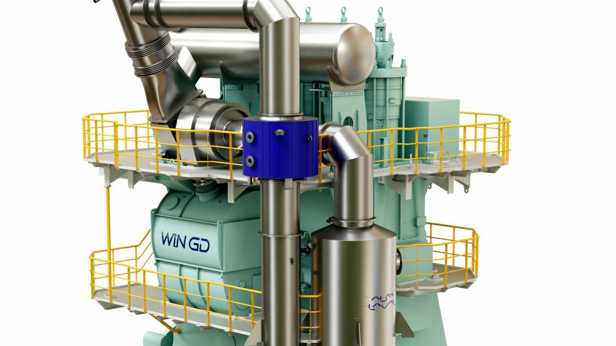 Using its iCER solution, WinGD will cut methane slip by half (Source: WinGD)