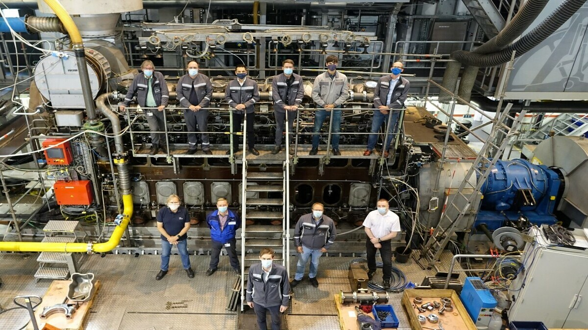 MAN 32/40 engine passes type-approval test for retrofits