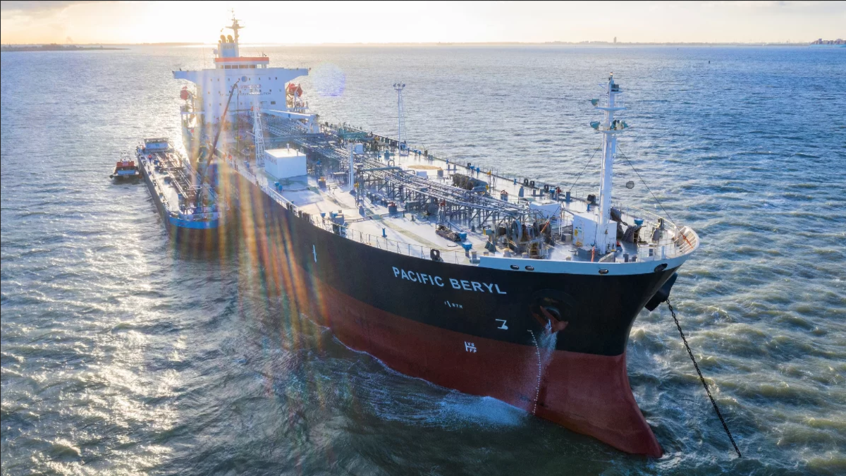 EPS' MR tanker Pacific Beryl will undergo a biofuel trial (Image: Eastern Pacific Shipping)