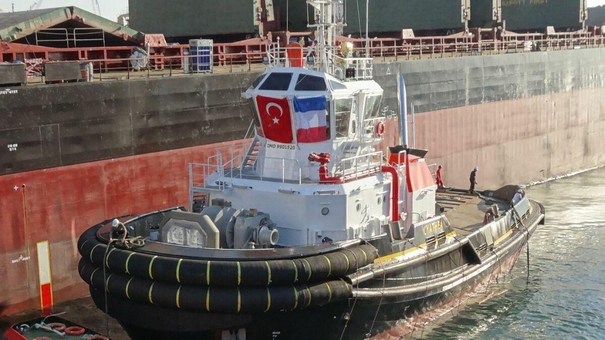 Bogazici built Cyathia tug to Bureau Veritas class (source: Bogazici)