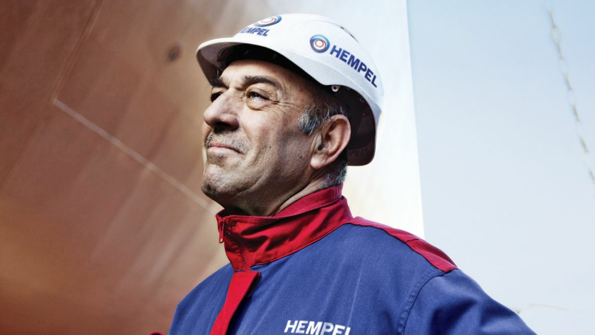 Marine coatings is always an in-demand subject at the Tanker Shipping & Trade conference (source: Hempel)