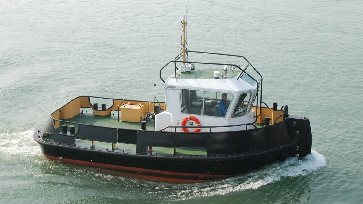 Damen built Stan Tug 1004 for Vletterlieden services from Port of Ijmuiden (source: Damen)
