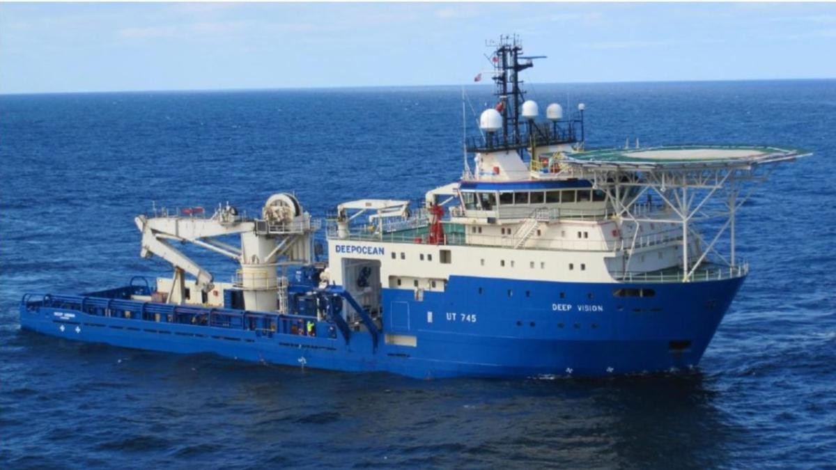 DeepVision is the 14th vessel under Vestland Offshore's ship management (source: Vestland Offshore)