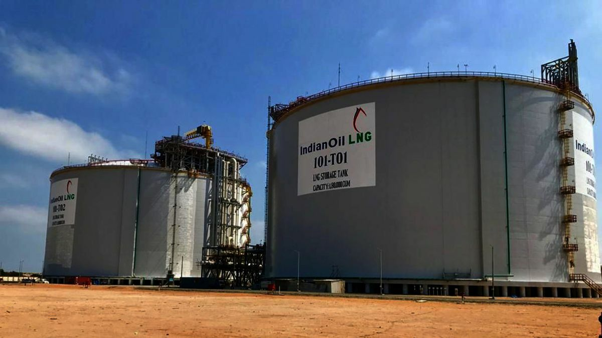 The Ennore LNG terminal was the first on the east coast of India; at least six more LNG terminals are scheduled to start operating in the next five years