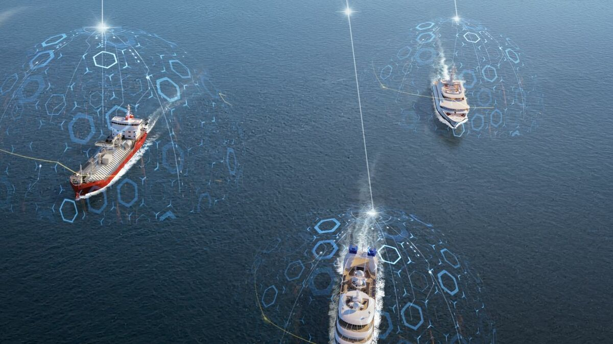 Fleet Data delivers digitalisation to fleets of ships (source: Inmarsat)