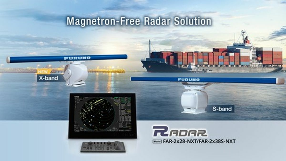 Furuno introduces the first IMO-compliant X-band/S-band magnetron-free solution for commercial vessels