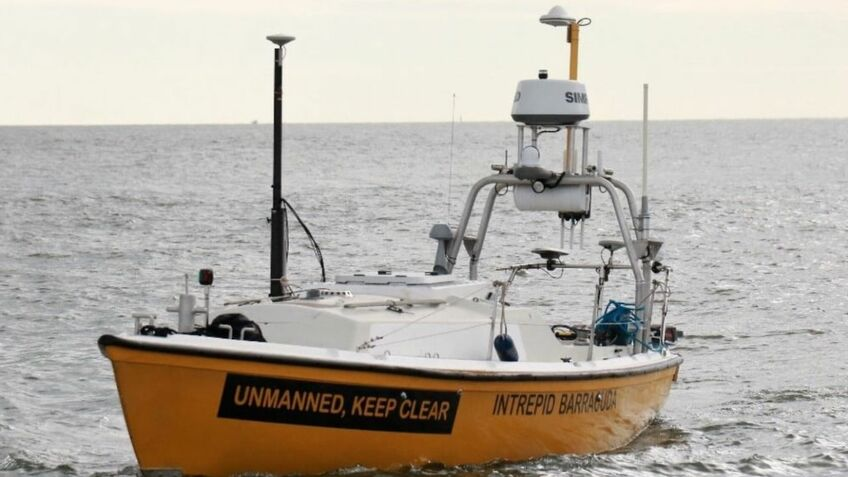 S-band connectivity tested for autonomous survey vessels