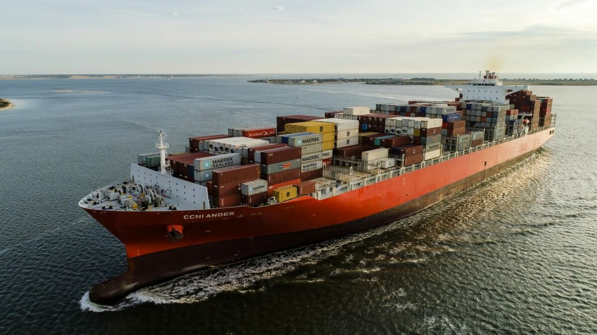 Container shipping will need to cut their carbon footprint under IMO goals (Image: NSC)