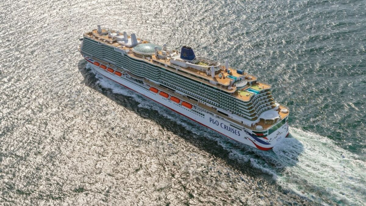 Iona will be the first UK cruise ship to be powered by LNG (Image: P&O Cruises)