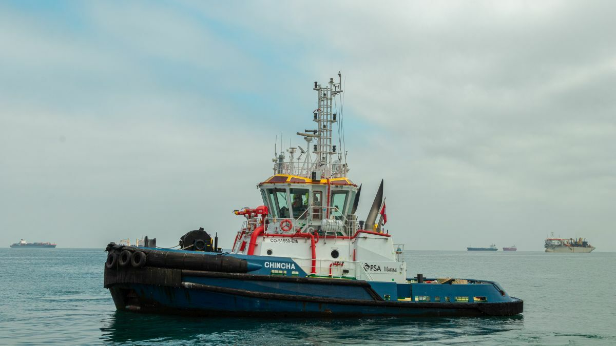 PSA Marine Peru tug Chincha at Callao port in Peru