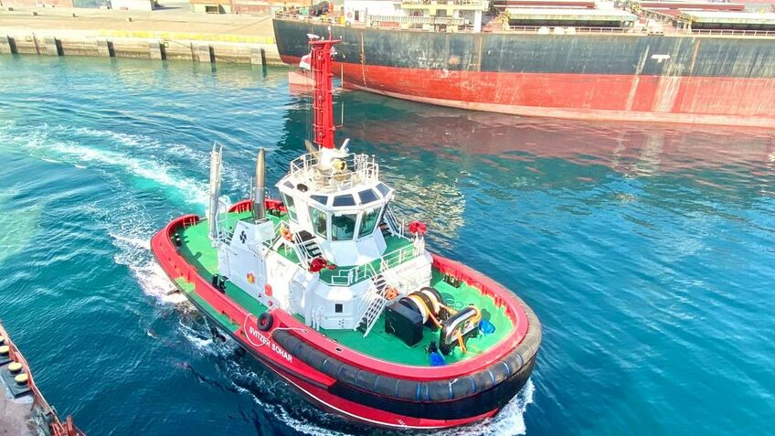 Tug fleet expanded in growing Middle East port hub