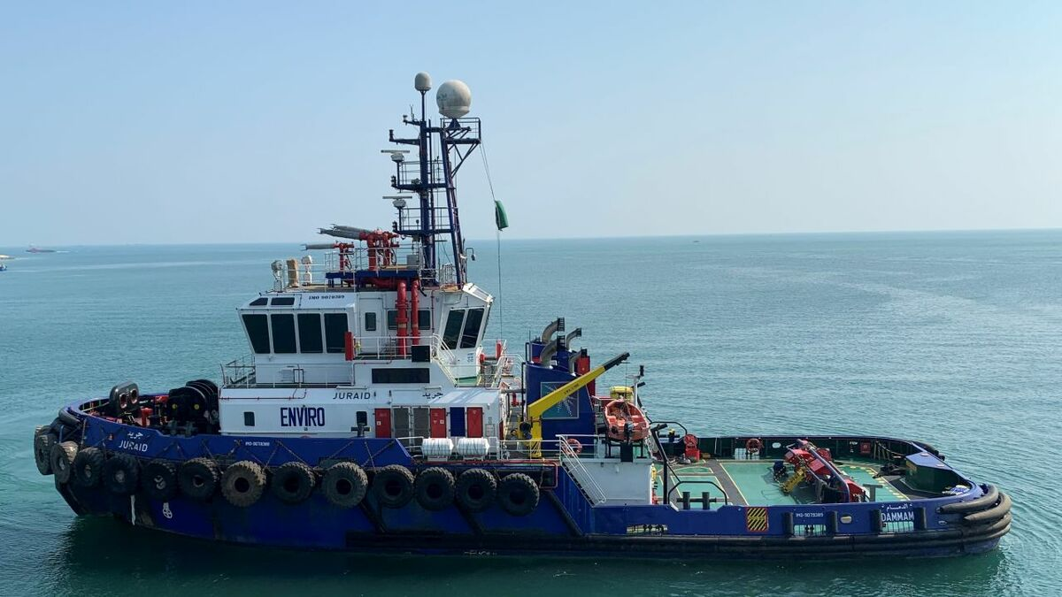 Saudi Aramco anchor handling tug Juraid achieved ABS' Enviro notation