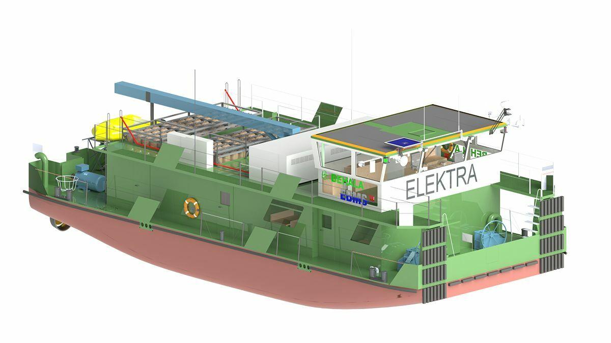 Hermann Barthel is building Elektra hydrogen-powered tugboat for Behala in Germany (source: Schottel)