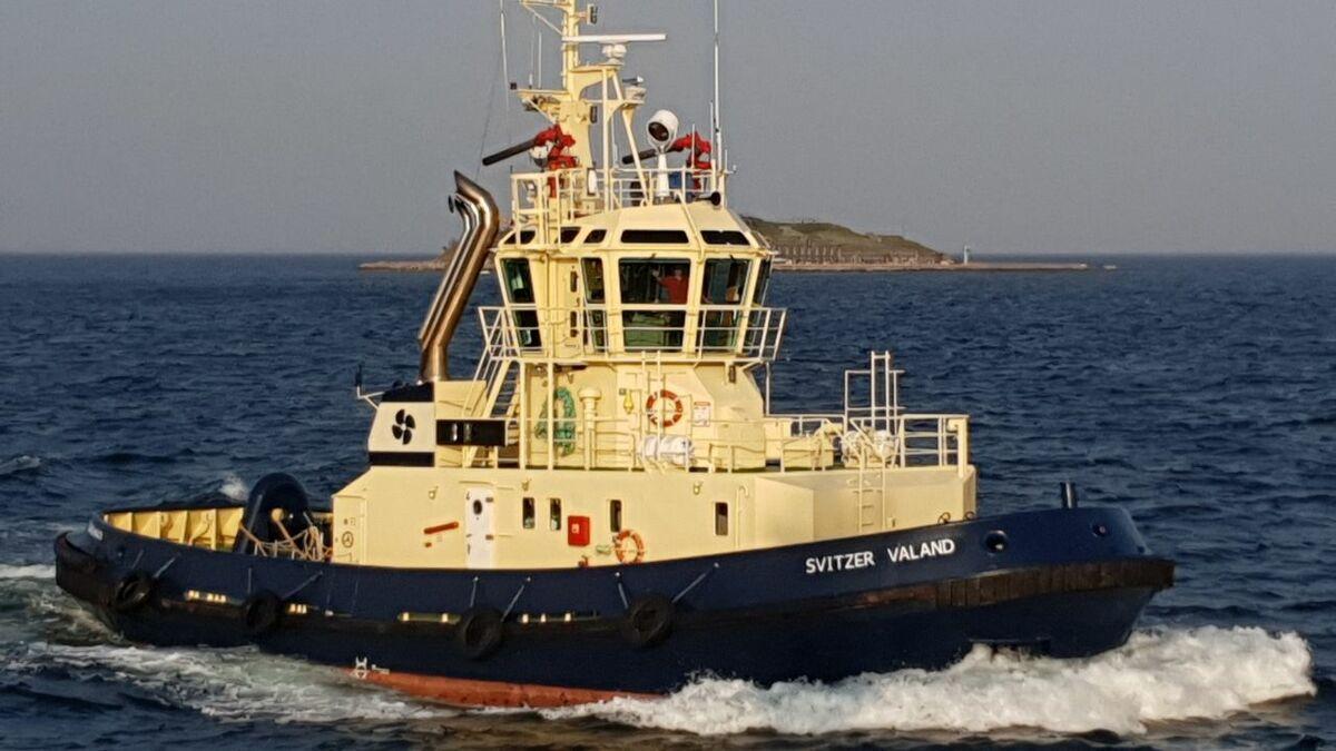 Svitzer Valand tug will provide ship support in Emden Germany (source: Svitzer)