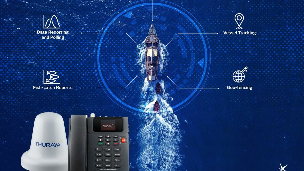 Thuraya SatTrack provides fishing vessels with monitoring and tracking apps (source: Thuraya)