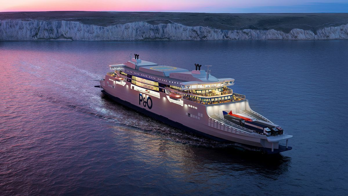 Two bridges, one ship: how P&O's new cross-Channel ferries will look (source: ABB)
