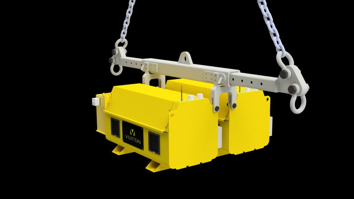 SpinPods can be incorporated into specialised lifting equipment, as is the case with the tooling for MHI Vestas