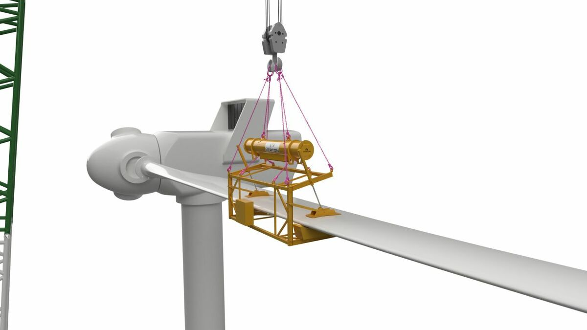 The Windmaster solution is for installation of wind turbine blades and will be available in Q2 2021