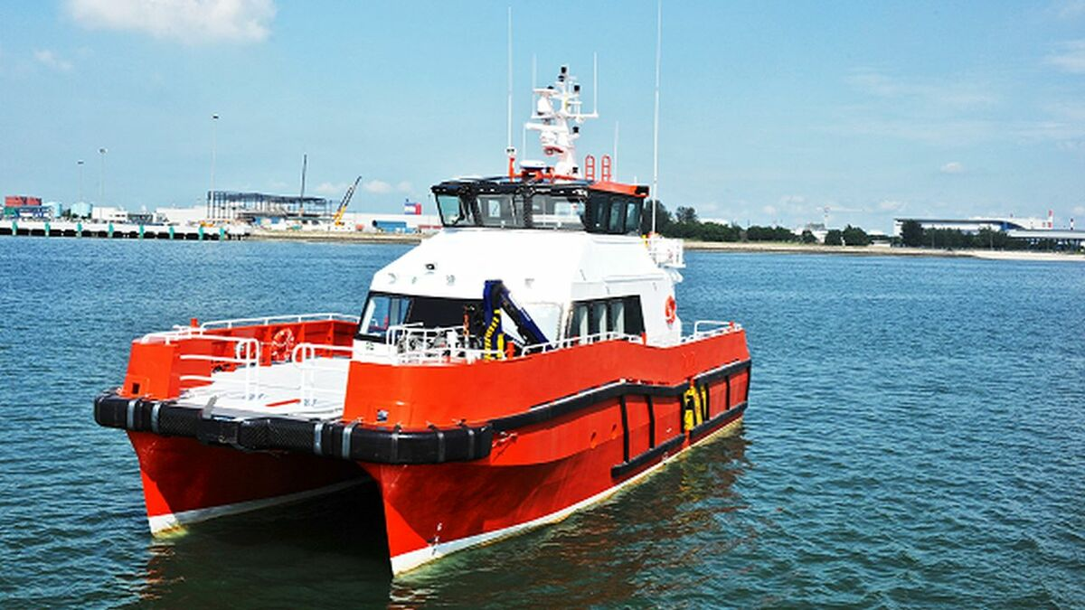 Strategic Marine to build two CTVs for WEM